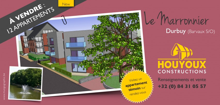 Encart publiciatire houyoux contruction