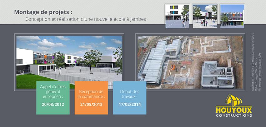 Houyoux constructions encart publicitaire