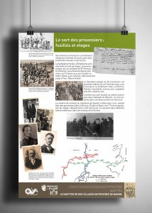 Teaser panneau expo guerre mondiale