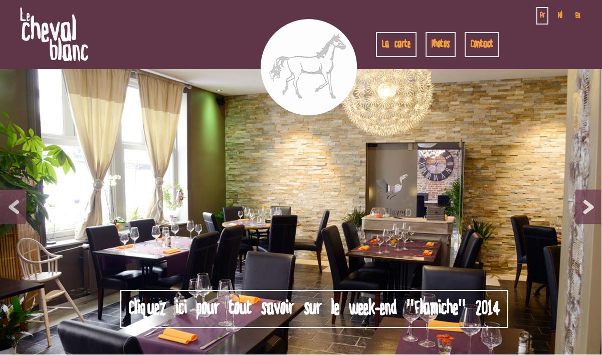 Homepage Cheval blanc