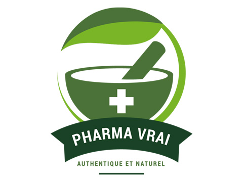 Design de logo pharmacie authentique et naturelle