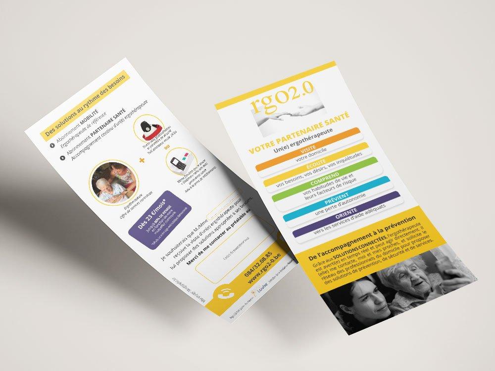 Ergothérapeute flyers