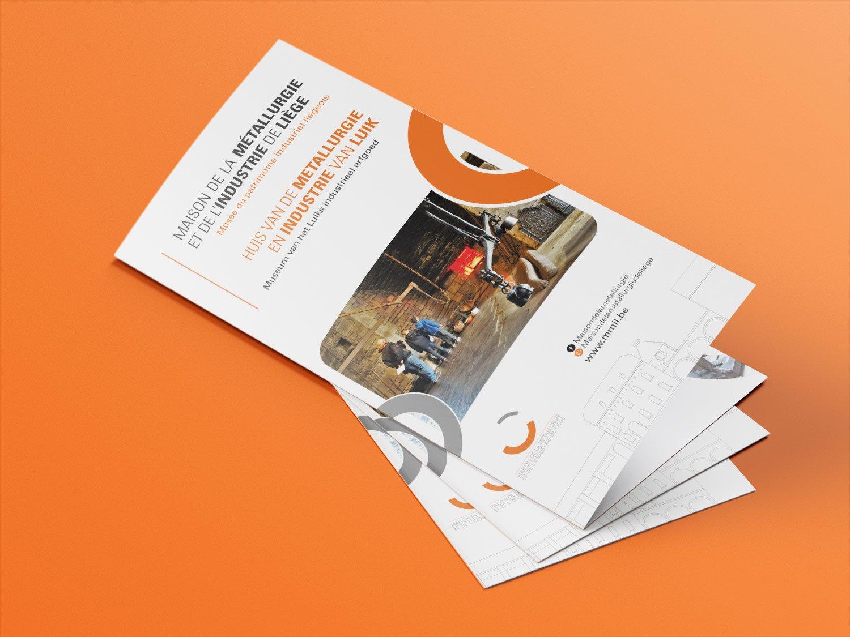 Mise en page de flyers et brochure